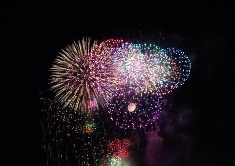 2014年8月8日茨木市 辯天宗夏祭奉納花火大会 中止!!