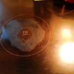 ガラストップコンロの焦げ付きの取り方(アルミホイル+クレンザーでOK!)