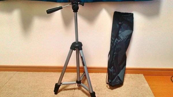 激安1000円台で軽くて丈夫なカメラの三脚を買ってみた